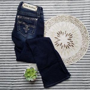 Rock Revival Dark Wash Bootcut Jeans Size 26